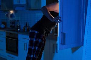 Fressattacke am Kühlschrank